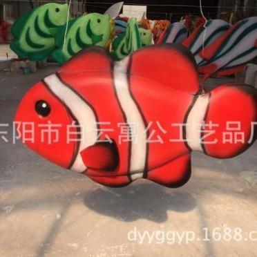 海洋泡沫雕刻仿真鱼 高品质仿真鱼泡沫鱼 泡沫海洋生物 商场美陈