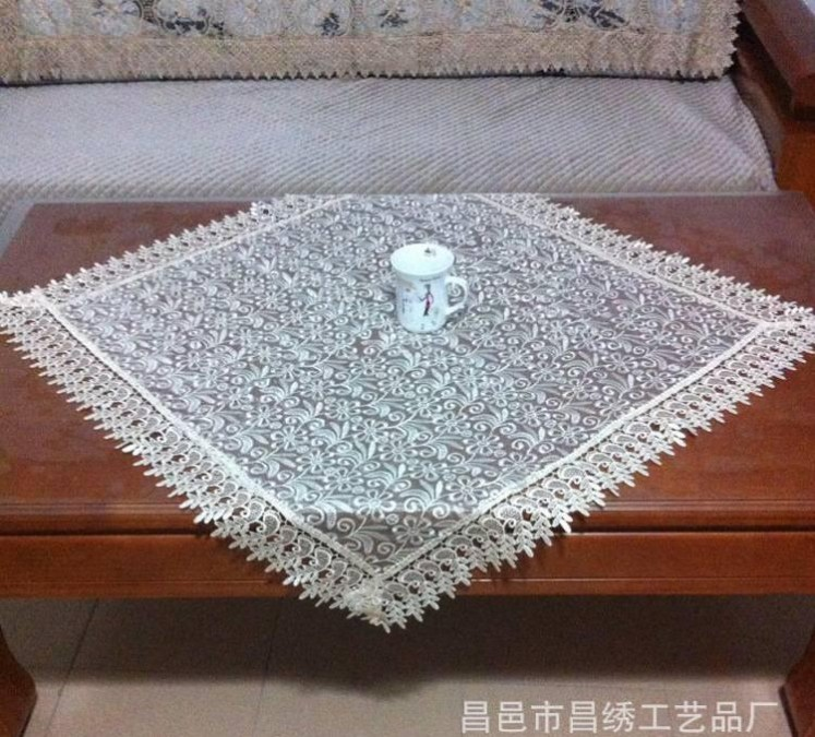 布艺家居工艺品沙发罩 抽纱电脑刺绣沙发巾 扶手巾 批发沙发垫