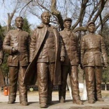 铭海铜师 体育人物雕塑作品 大型人物雕塑工艺品厂家