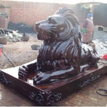 铭海铜师 汇丰狮 大型汇丰狮厂家 汇丰狮定做