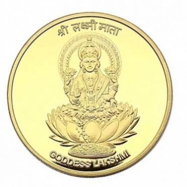 现货 印度菩萨镀金币纪念币 收藏币金币莲花佛教硬币牙仙子纪念章