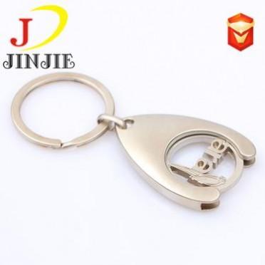 金属镂空代币扣商场购物车代币代币夹钥匙扣广告创意logo设计定制