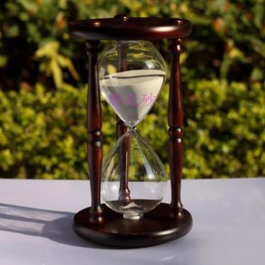 时之砂大号木制60分钟沙漏计时器 结婚礼物 创意品 家居工艺摆件